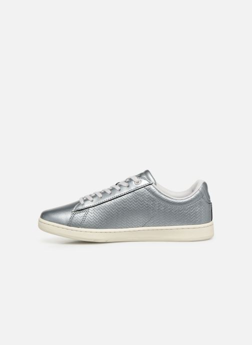 Baskets Lacoste Carnaby Evo 119 9 Sfa Argent vue face