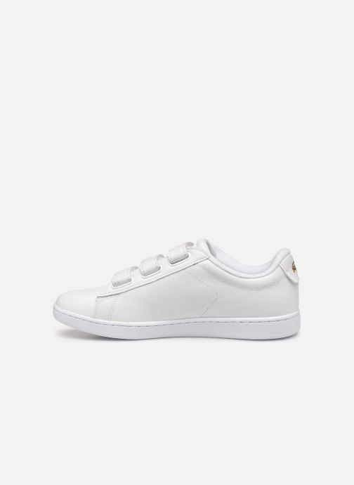 Baskets Lacoste Carnaby Evo Strap1191Sfa Blanc vue face