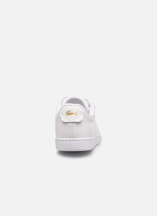 Sneaker Lacoste Carnaby Evo Strap1191Sfa weiß ansicht von rechts