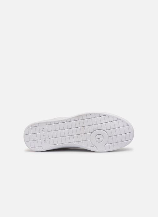 Sneaker Lacoste Carnaby Evo Strap1191Sfa weiß ansicht von oben