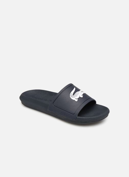 4abadc1d0 Mules   clogs Lacoste Croco Slide 119 3 Cfa Blue detailed view  Pair view