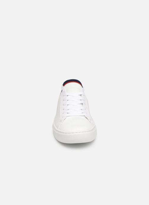 Baskets Lacoste La Piquée 119 1 Cfa Blanc vue portées chaussures