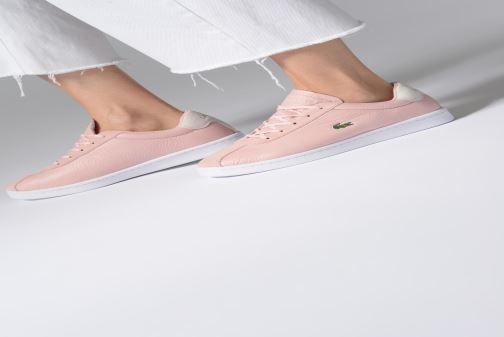 Sneaker Lacoste Masters 119 2 Sfa rosa ansicht von unten / tasche getragen