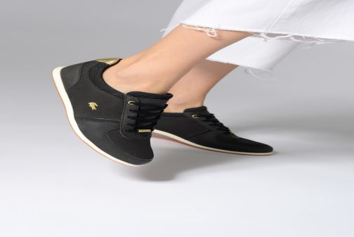 Trainers Lacoste Rey Sport 119 2 Cfa Black view from underneath / model view