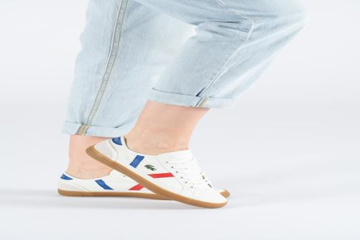 Trainers Lacoste Sideline 119 4 Cfa White view from underneath / model view