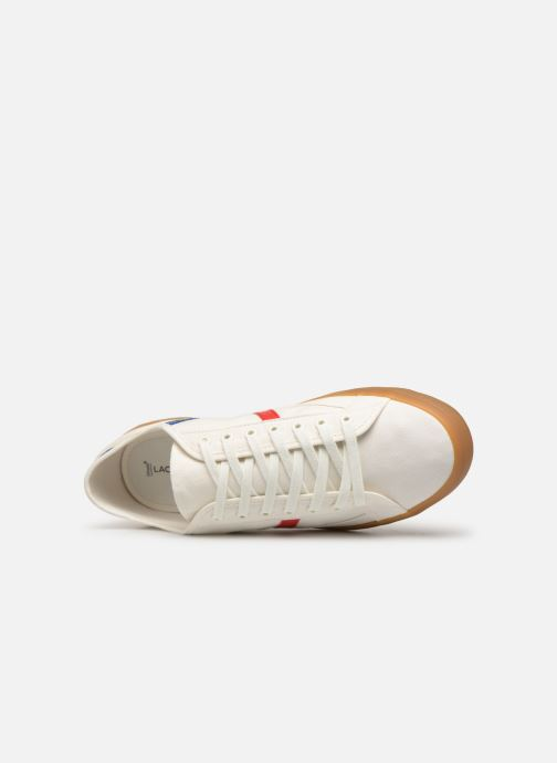 Trainers Lacoste Sideline 119 4 Cfa White view from the left