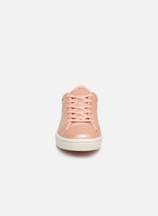 Sneaker Lacoste Straightset 119 1 Cfa rosa schuhe getragen