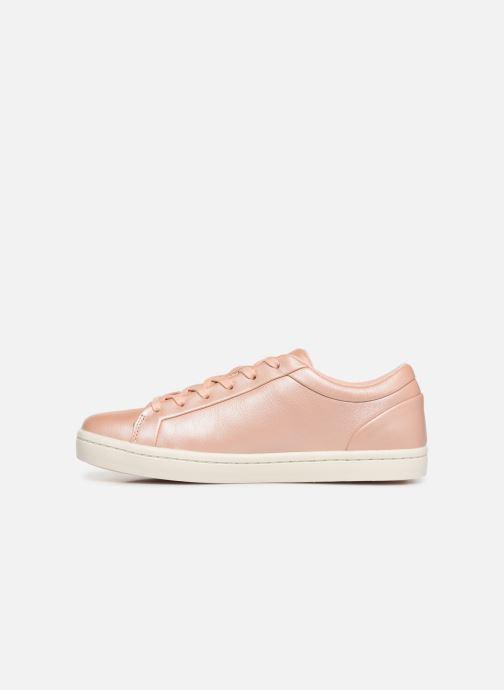 Sneaker Lacoste Straightset 119 1 Cfa rosa ansicht von vorne