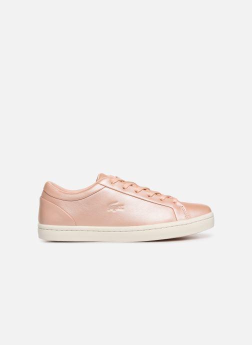 Sneaker Lacoste Straightset 119 1 Cfa rosa ansicht von hinten