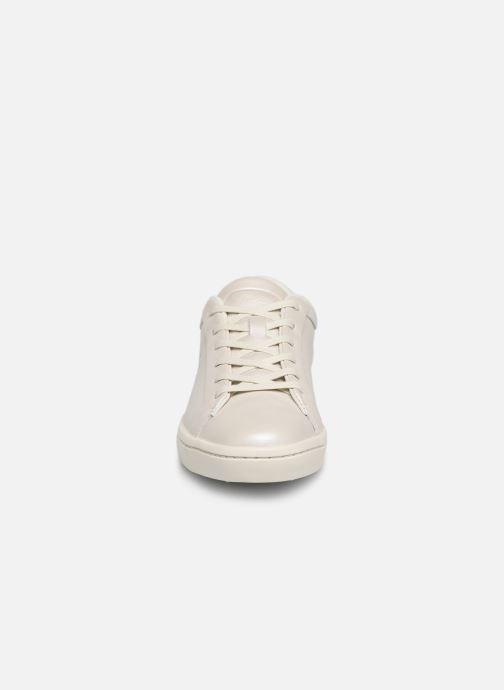Baskets Lacoste Straightset 119 1 Cfa Blanc vue portées chaussures