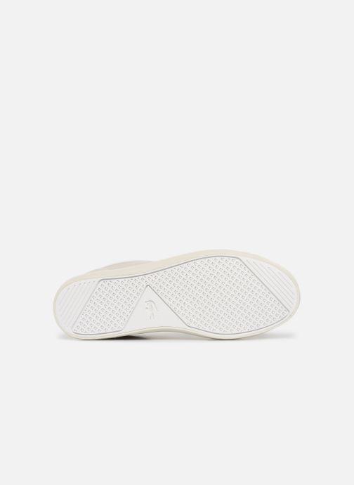 Baskets Lacoste Straightset 119 1 Cfa Blanc vue haut