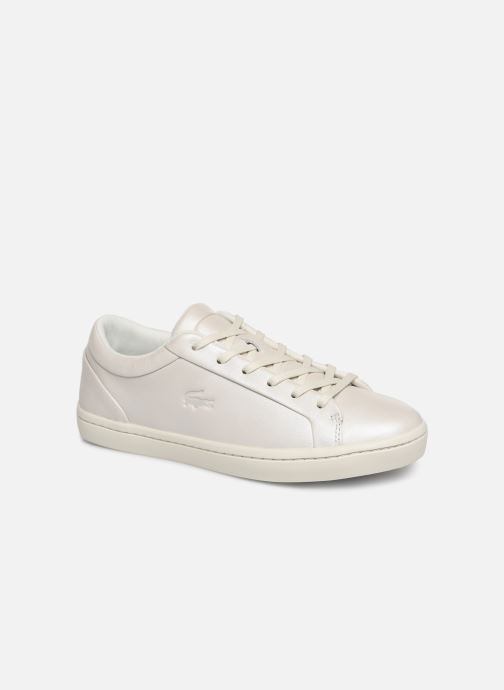 Trainers Lacoste Straightset 119 1 Cfa White detailed view/ Pair view