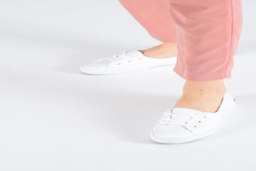 Trainers Lacoste Ziane Chunky 119 2 Cfa White view from underneath / model view