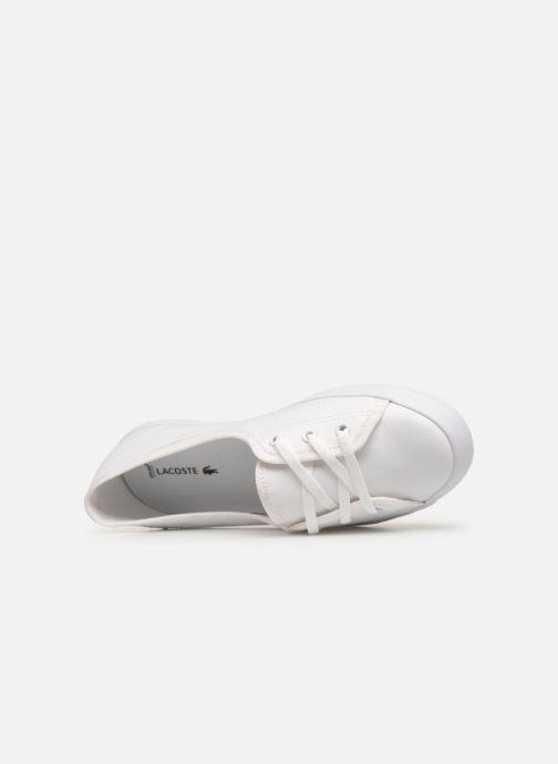 Sneaker Lacoste Ziane Chunky 119 2 Cfa weiß ansicht von links