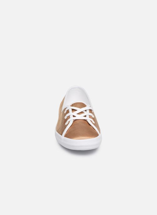 Baskets Lacoste Ziane Chunky 119 3 Cfa Or et bronze vue portées chaussures