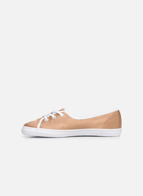 Baskets Lacoste Ziane Chunky 119 3 Cfa Or et bronze vue face