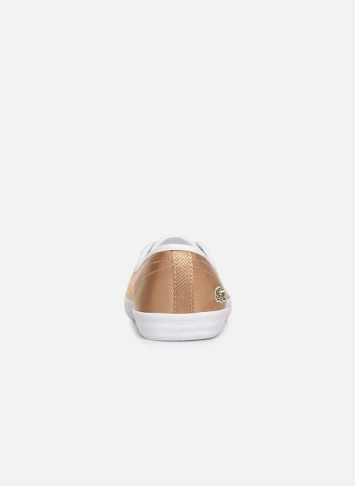 Trainers Lacoste Ziane Chunky 119 3 Cfa Bronze and Gold view from the right