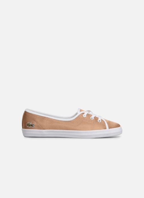 Trainers Lacoste Ziane Chunky 119 3 Cfa Bronze and Gold back view