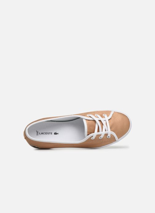 Baskets Lacoste Ziane Chunky 119 3 Cfa Or et bronze vue gauche