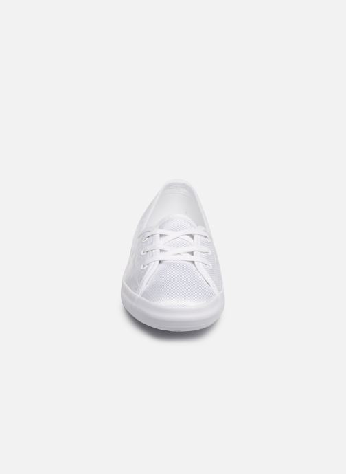 Baskets Lacoste Ziane Chunky 119 3 Cfa Blanc vue portées chaussures