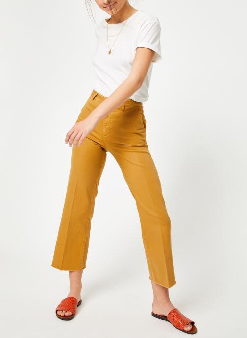 Vêtements Lab Dip Sully Denim Couleur Jaune vue bas / vue portée sac