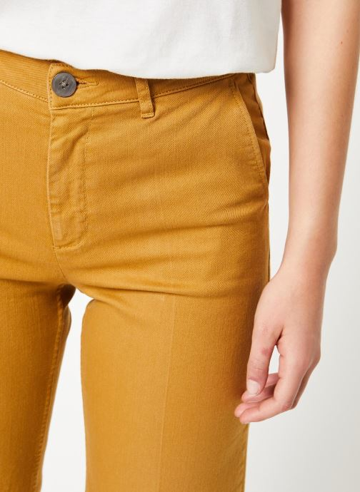Vêtements Lab Dip Sully Denim Couleur Jaune vue face
