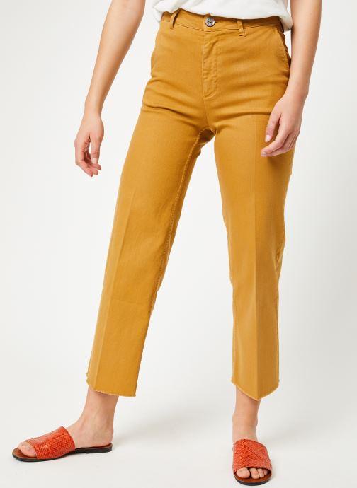 Vêtements Lab Dip Sully Denim Couleur Jaune vue détail/paire