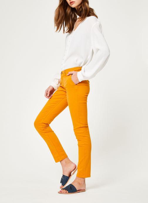 Vêtements Lab Dip Angie Orange vue bas / vue portée sac