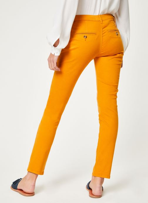 Vêtements Lab Dip Angie Orange vue portées chaussures