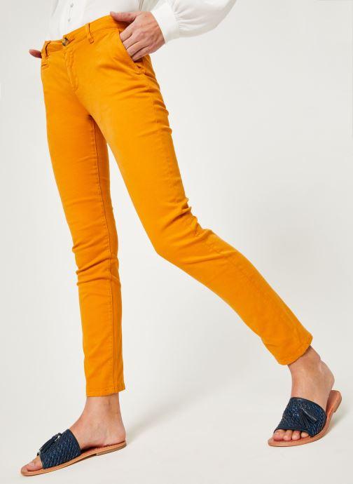Vêtements Lab Dip Angie Orange vue détail/paire