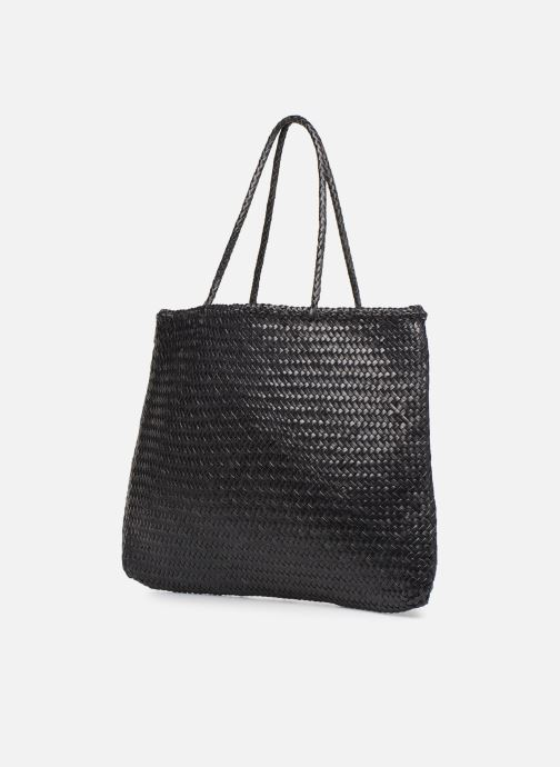 Handbags Dragon Diffusion SOPHIE L Black view from the right