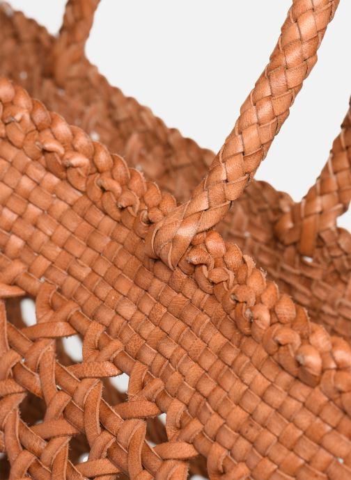 Handtassen Dragon Diffusion CANNAGE BIG Bruin links