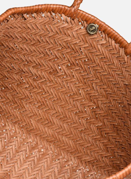 Handtassen Dragon Diffusion 3J BIG Bruin achterkant