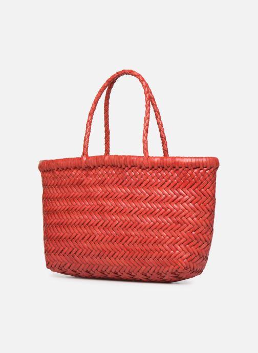 Handbags Dragon Diffusion MINI FLAP GORA Red model view