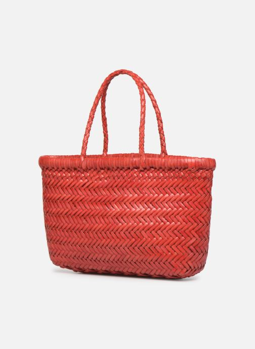 Handbags Dragon Diffusion MINI FLAP GORA Red view from the right