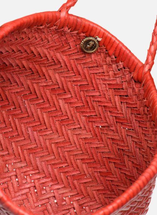 Handbags Dragon Diffusion MINI FLAP GORA Red back view