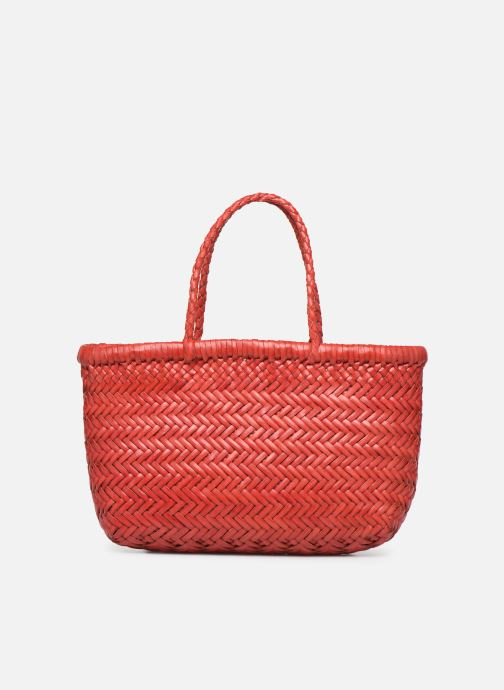 Handbags Dragon Diffusion MINI FLAP GORA Red detailed view/ Pair view
