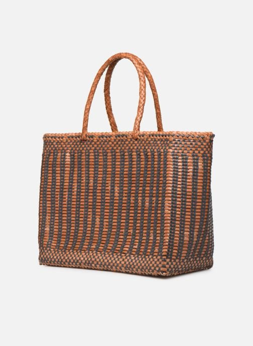 Handtassen Dragon Diffusion CANNAGE LIZARD BIG Bruin model