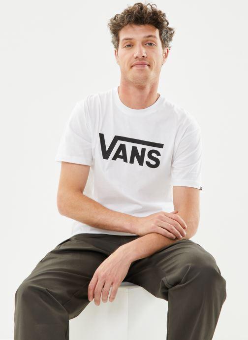 Vêtements Vans Vans Classic Blanc vue détail/paire