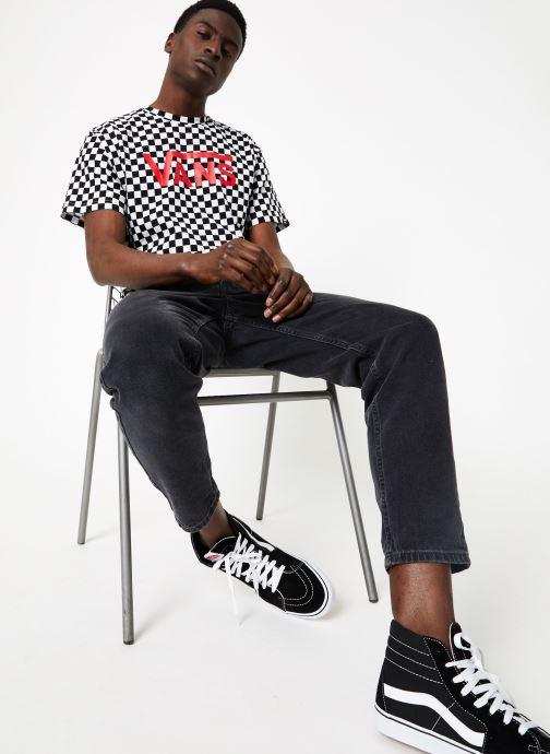 White Vans Classic VêtementsT Checkerboard shirts Black Et Polos kXOnw0P8