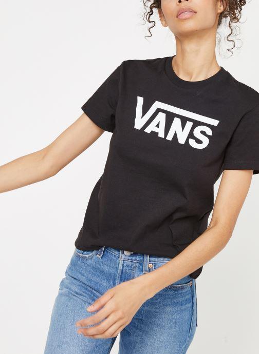 Vans Flying V Crew T Shirt Femme: : Vêtements et