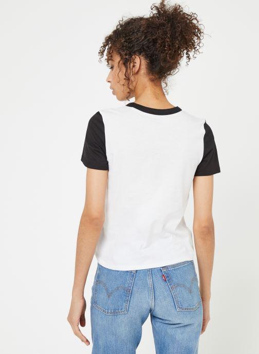 Et Tangle Débardeurs shirts VêtementsT Vans black V Ringer Range White 534RjAL