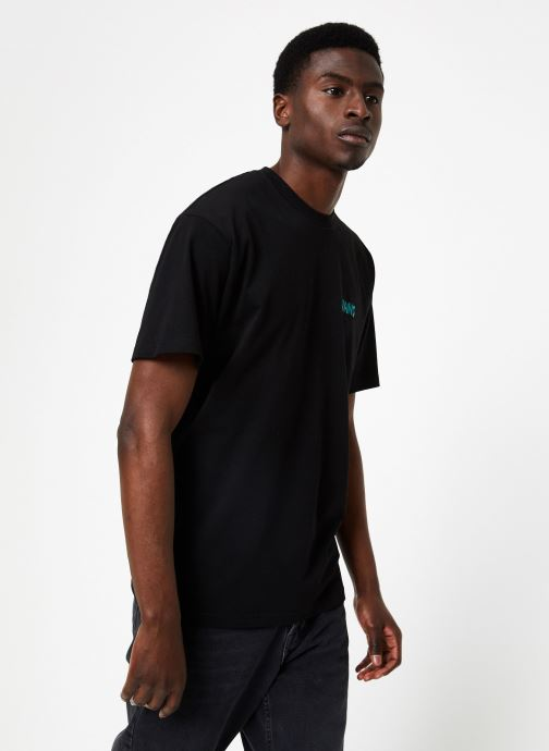 Ropa Vans Two Can SS Negro vista lateral derecha