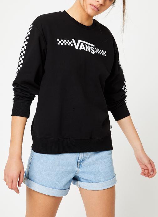 Vêtements Vans Funnier Times Crew Noir vue droite