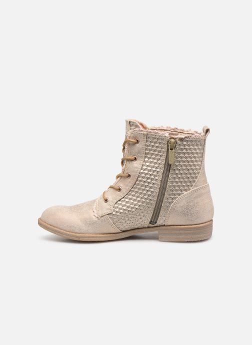 Bottines et boots Mustang shoes Ewenn Rose vue face