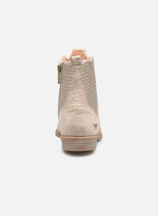 Bottines et boots Mustang shoes Ewenn Rose vue droite
