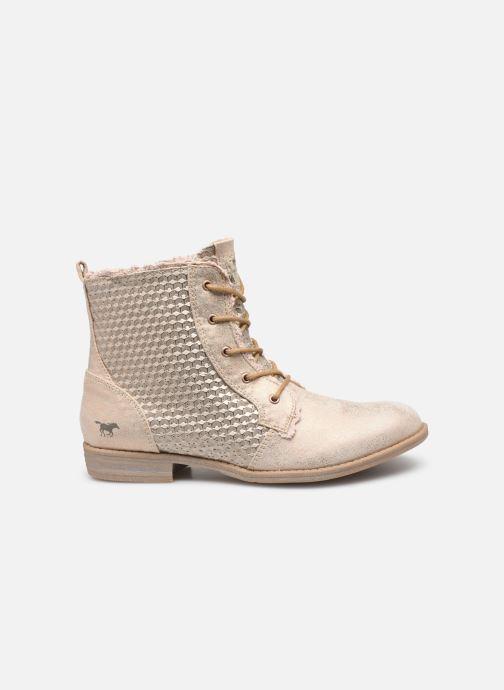 Bottines et boots Mustang shoes Ewenn Rose vue derrière