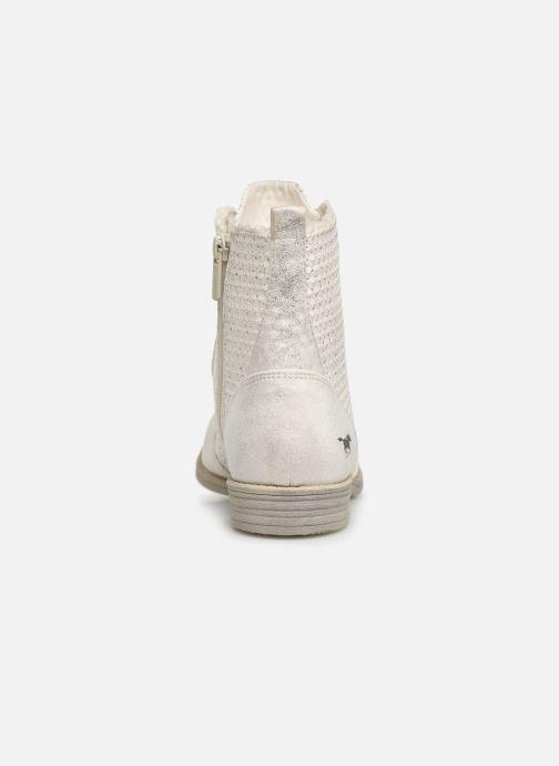 Bottines et boots Mustang shoes Ewenn Blanc vue droite