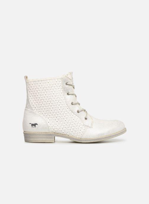Bottines et boots Mustang shoes Ewenn Blanc vue derrière