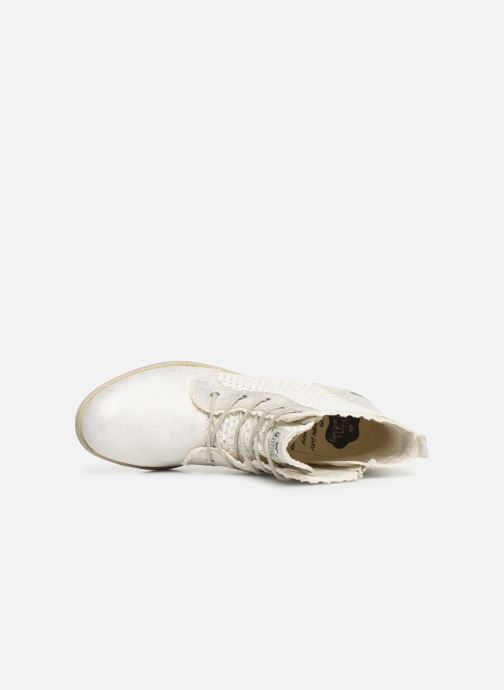 Bottines et boots Mustang shoes Ewenn Blanc vue gauche